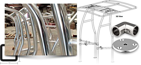 Taco Marine's fabrication products are found on all boat models and sizes from tower to deck, bow to stern – worldwide. We offer an extensive assortment of products in aluminum, stainless and nylon.