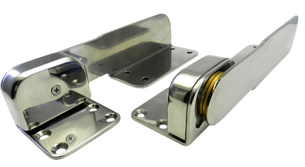 Ratchet Hinge is Ideal for sunpad cushions, bolsters, lounge backrests