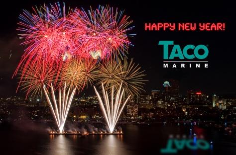 Happy new year from Taco Marine
