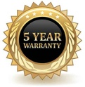 5 year warranty on Taco Marine rub rail