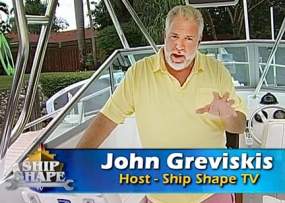 Ship Shape TV Host John Griviskis