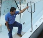 Taco Marine come on board handle