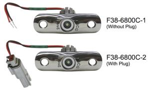 Rub Rail mounted navigation lights