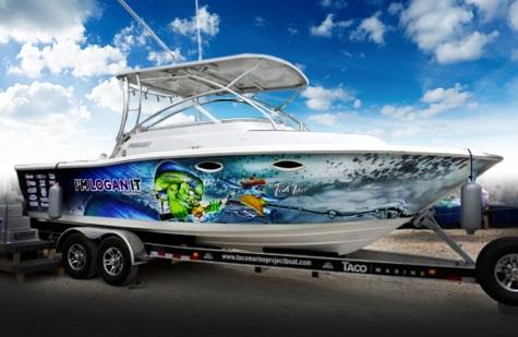 Taco Marine Project Boat Raffle