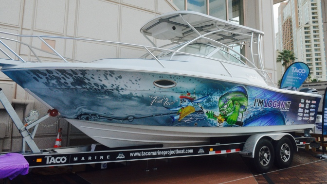 Thank You for Visiting the TACO Marine Project Boat at the Tampa Boat Show