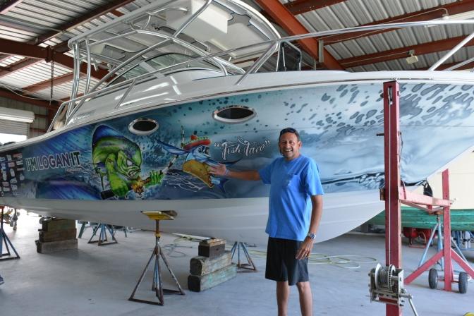 Project Boat Winner and Avid Fisherman Roger LeFranc Visits Fish Taco