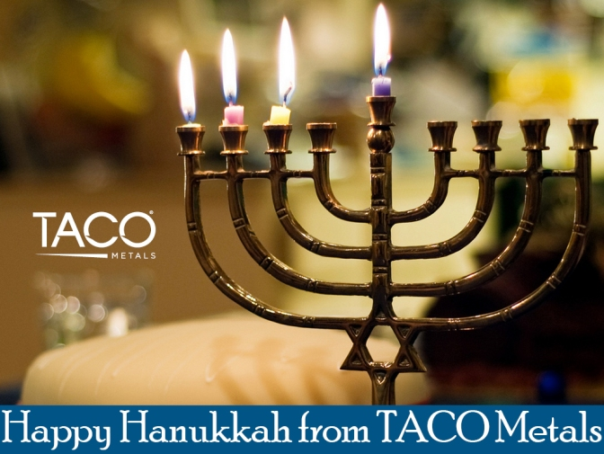 Happy Hanukkah from TACO!