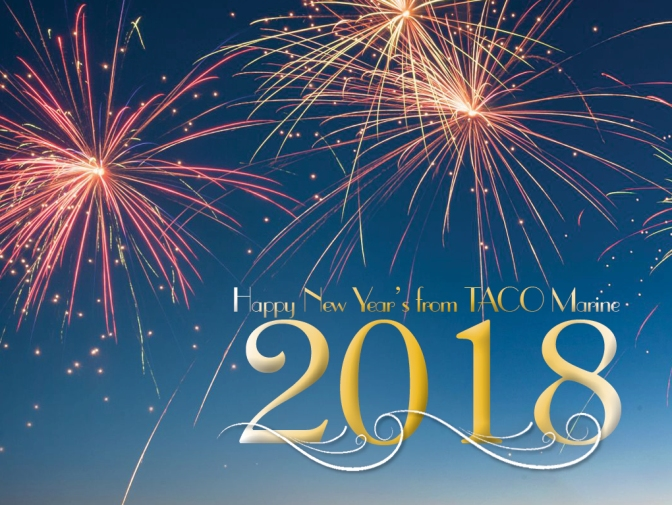 Happy New Year from TACO Marine!